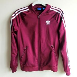 Adidas tennis jacket 3 stripes for women size XS